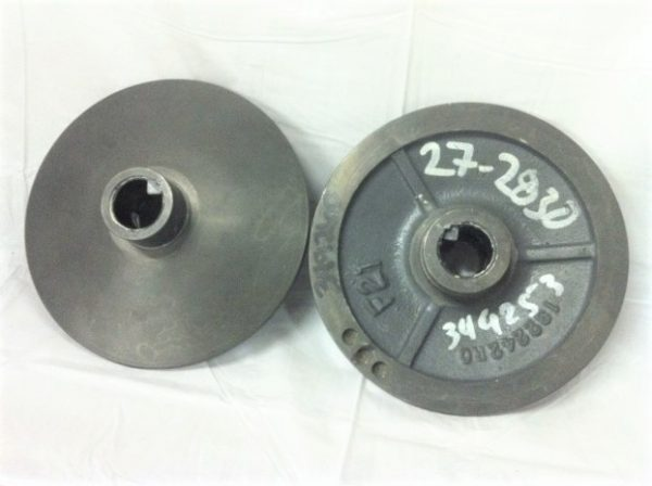 349260-000 Adjustable Driven Disc, 6 Frame