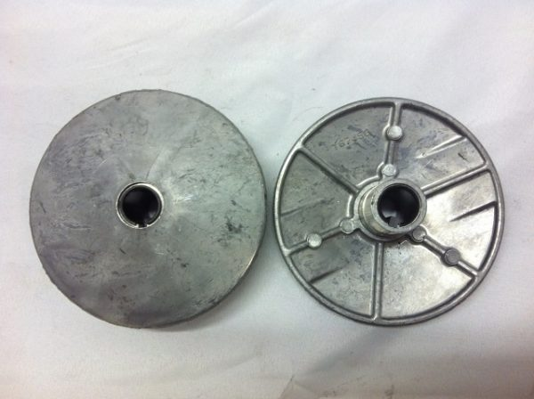 383213-000 Square-Key Adjustable Disc, 1 Frame