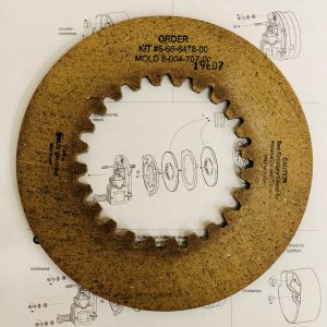 5-66-8478-00 Friction Disc Kit