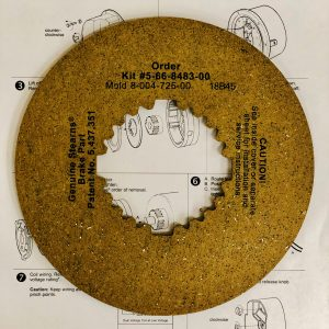 5-66-8483-00 Friction Disc Kit
