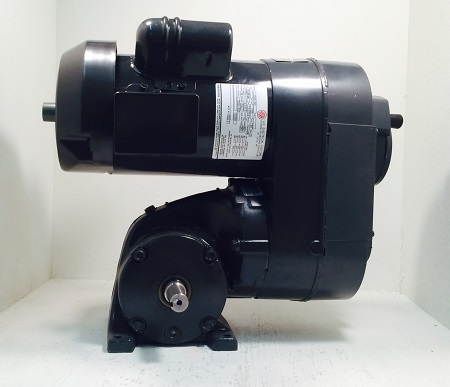 CB98, 1/2HP, 1-48-1 Frame, 115-230V, 1PH, 64-364 RPM, VAM-SEP-GW Type, C-Flow Assembly