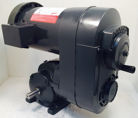 CC02, 1/2HP, 1-56-1 Frame, 230-460V, 3PH, 18-108 RPM, VAM-PEP-GW Type, C-Flow Assembly