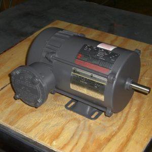 G313 US Motors, foot mount explosion proof, .75HP, 1740 RPM, 230-460V , 56
