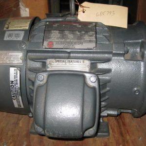 G85793 US Motors, C-face/foot mount, explosion proof, 3HP, 1735 RPM, 230-460V, 184TC