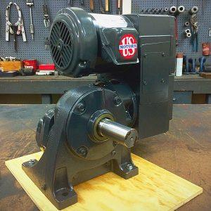 E740-E186-E462, 1HP, 6-143T-6 Frame, 208-230/460V, 3PH, 5-50 RPM, VAM-UTEP-GWBP Type, C-Flow Assembly, Premium Efficient