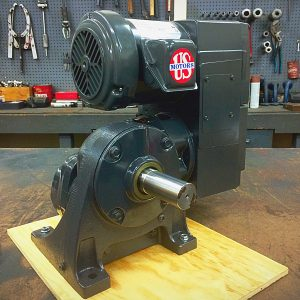 E740-E190-E458, 2HP, 6-145T-6 Frame, 208-230/460V, 3PH, 11.7-117 RPM, VAM-UTEP-GWBP Type, C-Flow Assembly, Premium Efficient