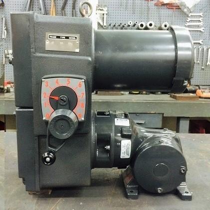 E741-E190-E430, 2HP, 10-145T-6 Frame, 208-230/460V, 3PH, 38-380 RPM, VAM-UTEP-GWP Type, C-Flow Assembly, Premium Efficient