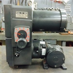 E741-E190-E431, 2HP, 10-145T-6 Frame, 208-230/460V, 3PH, 30.5-305 RPM, VAM-UTEP-GWP Type, C-Flow Assembly, Premium Efficient