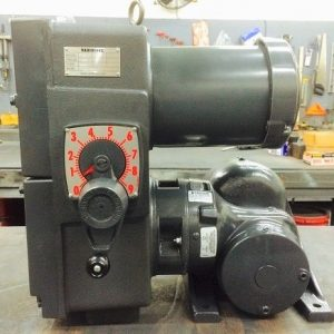 E741-E190-E455, 2HP, 10-145T-6 Frame, 208-230/460V, 3PH, 21-210 RPM, VAM-UTEP-GWBP Type, C-Flow Assembly, Premium Efficient