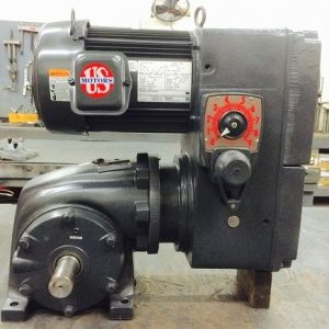 E742-E192-F319, 3HP, 15-182T-20 Frame, 208-230/460V, 3PH, 50-400 RPM, VAM-UTEP-GWP Type, C-Flow Assembly, Premium Efficient