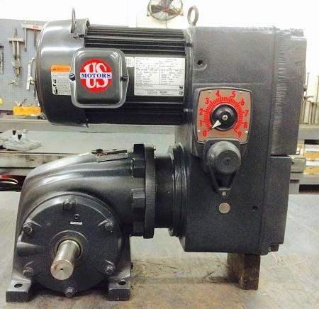 E742-E192-F323, 3HP, 15-182T-20 Frame, 208-230/460V, 3PH, 12.5-100 RPM, VAM-UTEP-GWP Type, C-Flow Assembly, Premium Efficient