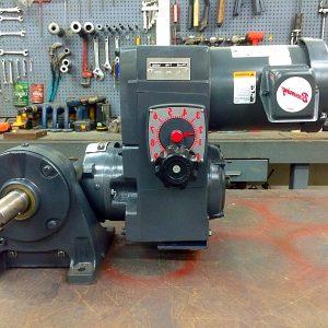 F712-E186-E460, 1HP, 6-143T-6 Frame, 208-230/460V, 3PH, 7.5-75 RPM, VAM-UTEP-GWBP Type, Z-Flow Assembly, Premium Efficient