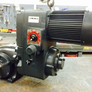 F714-E194-F319, 5HP, 15-184T-20 Frame, 208-230/460V, 3PH, 50-400 RPM, VAM-UTEP-GWP Type, C-Flow Assembly, Premium Efficient.