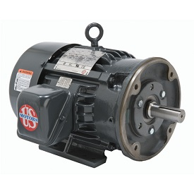 HD15P3EC, 15HP, 1200 RPM, 230/460V, 284TC frame, C-face, hostile duty