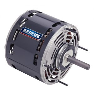 "5460, 5.6"" OAO Rescue permanent split capacitor direct drive fan & blower motor, 1/2HP, 1075 RPM, 115V, 48Y frame"