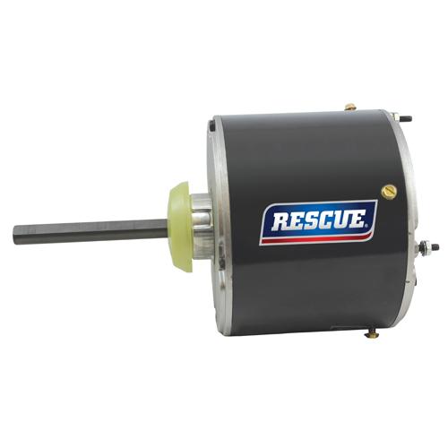 "5462, 5.6"" TEAO Rescue permanent split capacitor condenser fan motor, 1/3HP, 1075 RPM, 208-230V, 48Y frame"