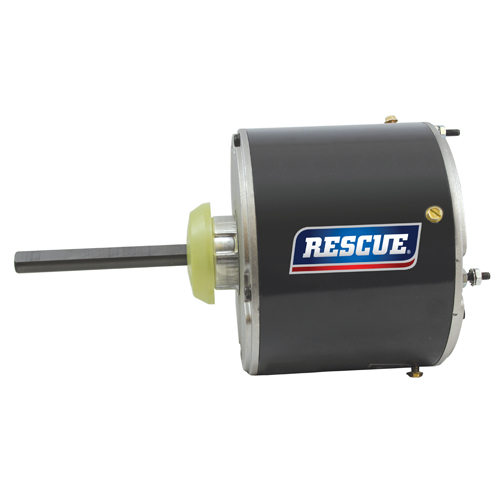 "5465H, 5.6"" TEAO Rescue permanent split capacitor condenser fan motor, 1/2HP, 1075 RPM, 208-230V, 48Y frame"