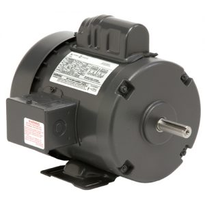 T1CA2J14, 1HP, 1800 RPM, 115/208-230V, 143T frame, single phase, TEFC, general purpose
