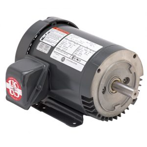 U1P3DFC, 1HP, 1200 RPM, 208-230/460V, 56C frame, C-face footed