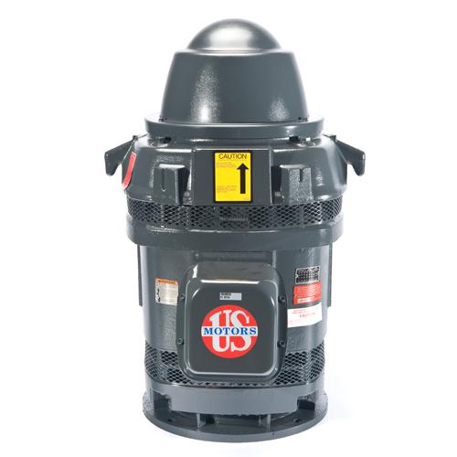 HO15V2BLE, 15HP, 1800 RPM, 230/460V, 254TP, 3PH, WPI, Inverter Duty Vertical Holloshaft
