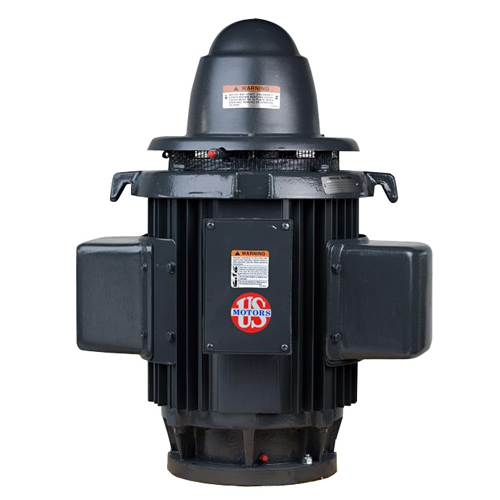 HS7C2KLE, 7.5HP, 1800 RPM, 230V, 256UP, Single Phase, WPI, Vertical Holloshaft