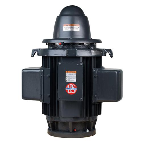 HS5C2KLE, 5HP, 1800 RPM, 230V, 254UP, Single Phase, WPI, Vertical Holloshaft