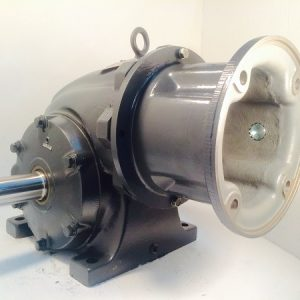 F323-385362 Gearbox with C-face kit for 182TC/184TC motor, 40 ratio, 44 RPM, 3HP max input, F-1