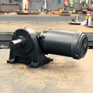 CE86-E461 Gearmotor, .33HP, 71.9 ratio, 25 RPM, 56-6, F-1