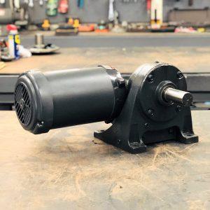 E190PE-G472 Gearmotor, 2HP, 20.3 ratio, 84 RPM, 145T-6, F-2