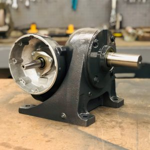 G479 Gearbox, 106 ratio, 16.5 RPM, .75HP max input, F-2
