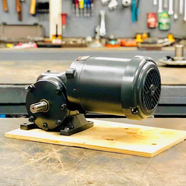 CE86-E434 Gearmotor, .33HP, 26 ratio, 68 RPM, 56-6, F-1