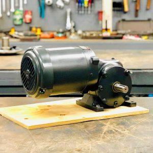 CE86-E440-F2 Gearmotor, .33HP, 87 ratio, 20 RPM, 56-6, F-2