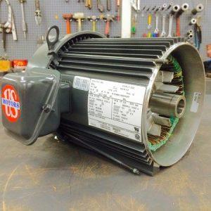 E194PE, 5HP, 1800 RPM, 208-230/460V, 184T Frame, 3PH, TEFC, Premium Efficient, Model# FP02, Replaces E194, CE93