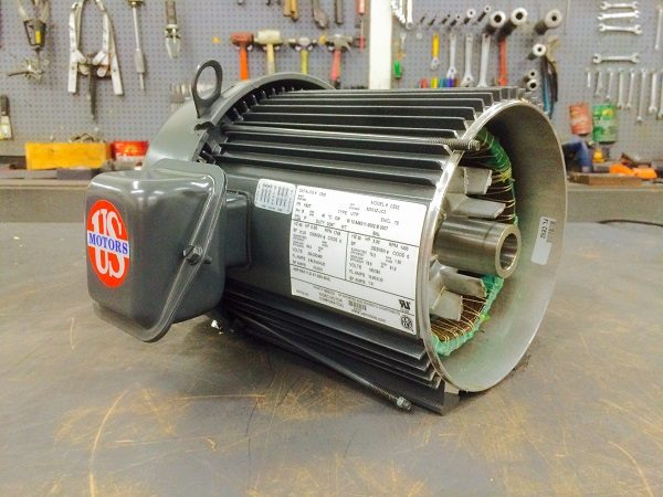 E194PE, 5HP, 1800 RPM, 208-230/460V, 184T Frame, 3PH, TEFC, Premium Efficient, Model# FP02, Replaces E194, CE93