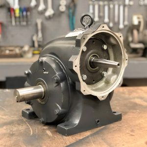 G311 Gearbox, 18 ratio, 100 RPM, 5HP max input, F-1