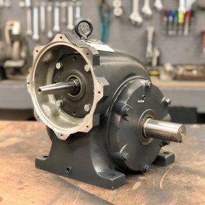 F329-F2 Gearbox, 50 ratio, 35 RPM, 2HP max input, F-2