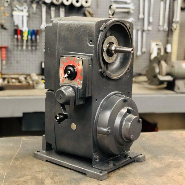 E530, 15 Frame, 500-4000 RPM, VAP Type, Z-Flow Gearless Assembly, 5HP Max Input
