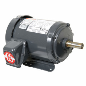 U1P2D, 1HP, 1800 RPM, 208-230/460V, 143T frame, general purpose
