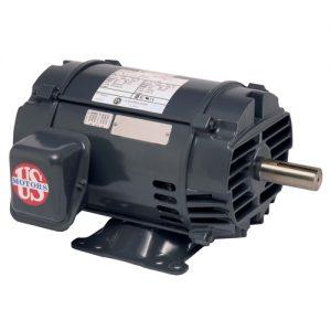 D2P3D, 2HP, 1200 RPM, 208-230/460V, 184T frame, ODP