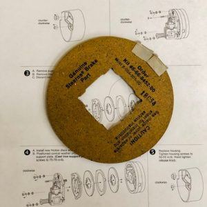 5-66-8452-00 Friction Disc Kit