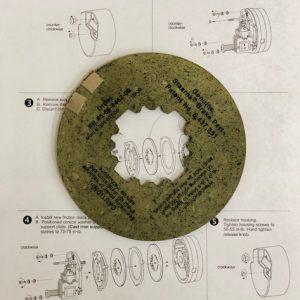 5-66-8462-00 Friction Disc Kit