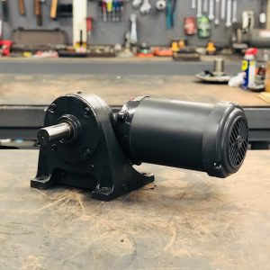 CE88-E454 Gearmotor, .75HP, 17 ratio, 100 RPM, 56-6, F-1
