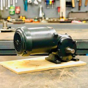 E186PE-E430-F2 Gearmotor, 1HP, 11.25 ratio, 155 RPM, 143T-6, F-2