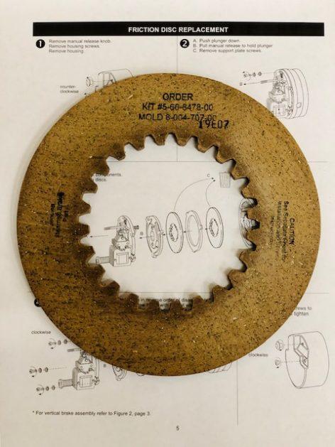 5-66-8478-00 Friction Disc Kit