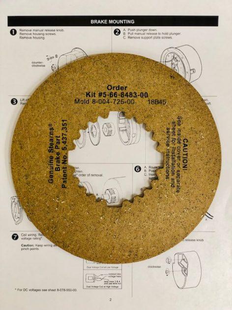 5-66-8483-00 Friction Disc Kit