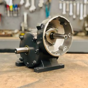 E438 Gearbox, 58 ratio, 30 RPM, .75HP max input, F-1