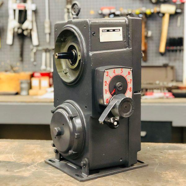 E529, 10 Frame, 428-4278 RPM, VAP Type, Z-Flow Gearless Assembly, 2.5HP Max Input