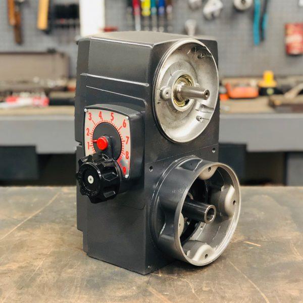 E740, 6 Frame, 428-4278 RPM, VAM Type, C-Flow Assembly, 2HP Max Input